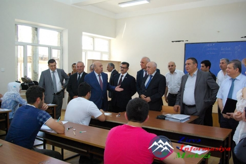 """AzTU-da imtahanların gedişini izləmək üçün """"Açıq qapı günü"""" təşkil olunub"""