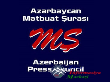 Mətbuat Şurasının Azərbaycan jurnalistlərinə MÜRACİƏTİ