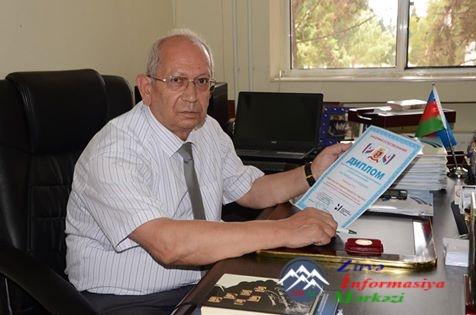 TƏBRİK EDİRİK!.. Sumqayıt Dövlət Universitetinin prorektoru ali mükafata la ...