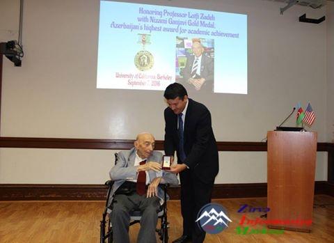 Azərbaycan Respublikasının Nizami Gəncəvi adına Qızıl Medalı görkəmli alim  ...