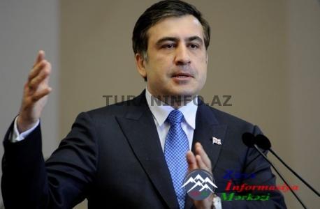 """Saakaşvili: """"İvanişvilini əzib keçəcəyəm"""""""