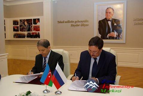 AzTU və Ulyanovsk Dövlət Universiteti arasında əməkdaşlıq müqaviləsi imzala ...