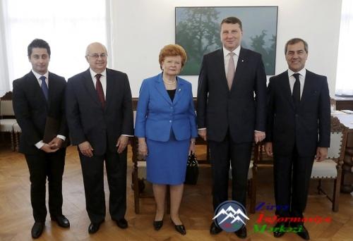 Latviya Prezidenti Nizami Gəncəvi Beynəlxalq Mərkəzinin İdarə Heyəti üzvlər ...