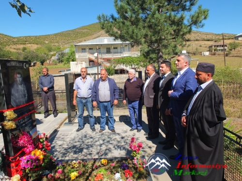Gürcüstan: Azərbaycanlı şəhidin xatirəsi doğulduğu kənddə anılıb