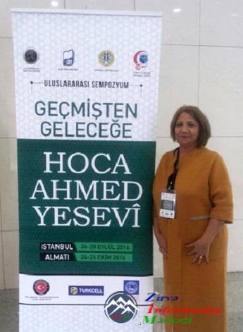 AMEA-nın şöbə müdiri Beynəlxalq Simpoziumunda iştirak edib