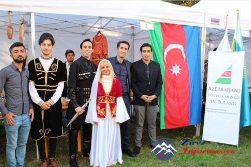 Azərbaycanlı gənclər beynəlxalq festivalda iştirak edib