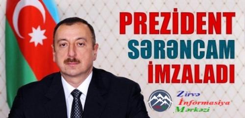 """Əflatun Amaşovun """"Şöhrət"""" ordeni ilə təltif edilməsi haqqında Azərbaycan Re ..."""