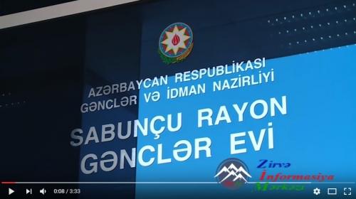 """""""Gənclər Evi Gənclərin Evi"""" Layihəsi başa çatmışdır"""