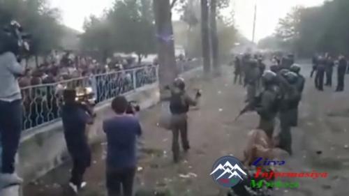 Gürcüstanın Marneuli rayonunun seçki məntəqəsində qarşıdurma baş verib -- YENİLƏNİB