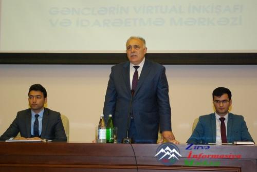 AzTU-da Virtual İnkişaf və İdarəetmə Mərkəzinin təqdimatı keçirilib