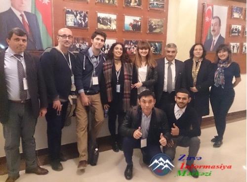 QAFQAZ UNIVERSITETINDƏ AICT-2016 10-cu Beynəlxalq Konfransın AÇILIŞI OLUB