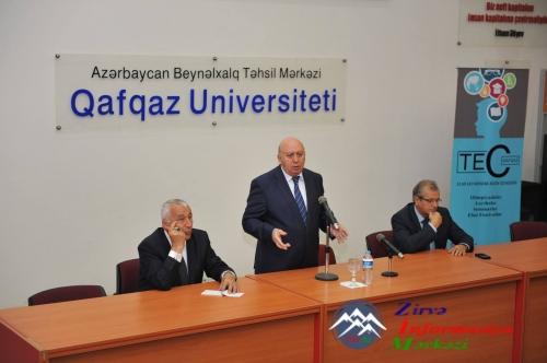 Qafqaz Universitetində ənənəvi görüş keçirilib
