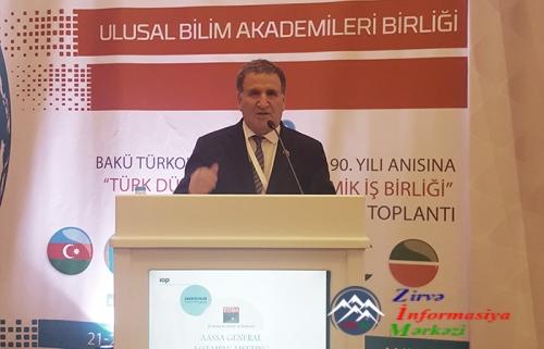 AMEA-nın vitse prezidenti Türkiyədə Birinci Türkoloji Qurultayın 90 illiyin ...