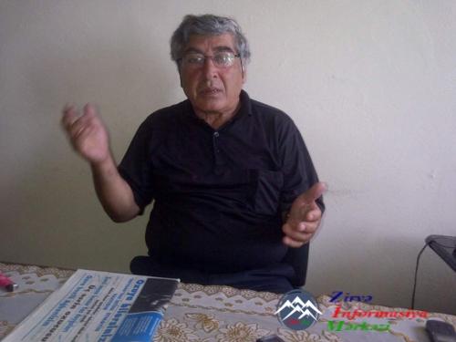 Nizami Paşa Saraclı 20 ildir