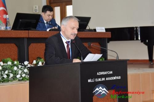 AMEA-da Birinci Türkoloji Qurultayın 90 illiyinə həsr olunmuş Beynəlxalq konfrans keçirilib