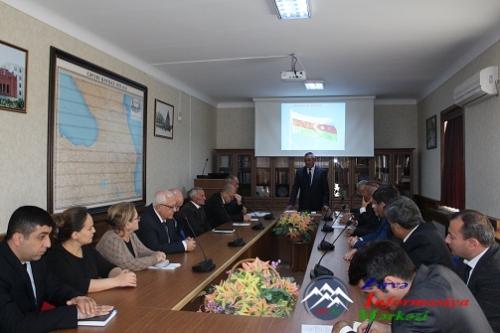 AMEA Naxçıvan Bölməsində Rəyasət Heyətinin iclası keçirildi