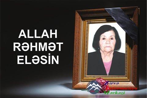 TARİXÇİ ALİM MƏŞƏDİXANIM NEMƏTOVA VƏFAT EDİB