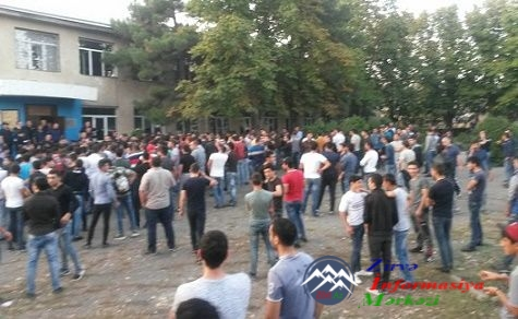 Gürcüstanda parlament seçkiləri zamanı saxlanılan azərbaycanlı gənclər sərb ...