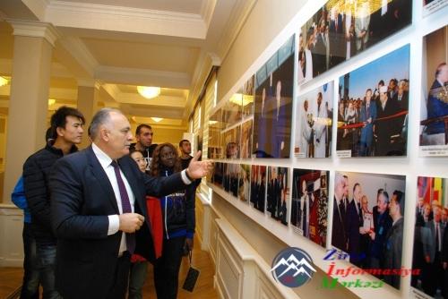 AzTU-da Ümummilli lider Heydər Əliyevin anım mərasimi keçirilib