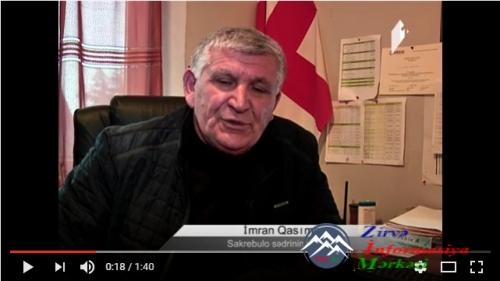 İmran Qasımov: Bolnisidə