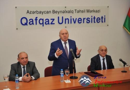 Qafqaz Universitetində Dini Qurumlarla İş üzrə Dövlət Komitəsinin sədri ilə ...