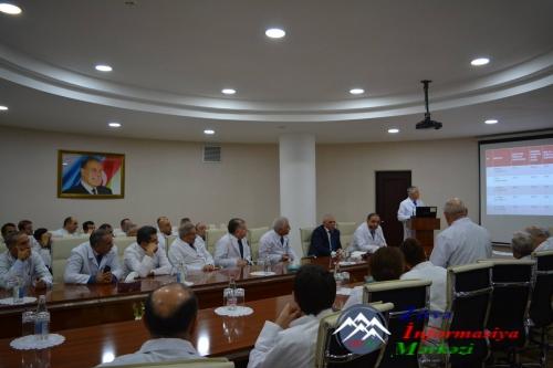 ATU Tədris Cərrahiyyə Klinikasının illik hesabatı