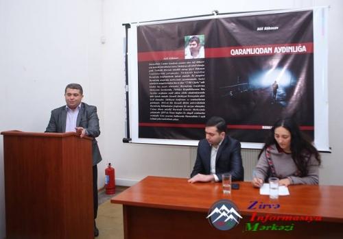 """Marneulidə """"Qaranlıqdan aydınlığa"""" adlı kitabın təqdimatı keçirlib"""