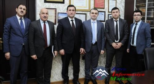 """""""Bank of Baku""""-nun nümayəndələri ADNSU-da olub"""