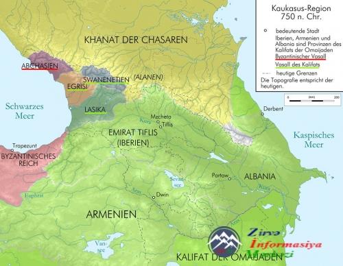 Tiflis Müsəlman Əmirliyi - Azərbaycan dövləti