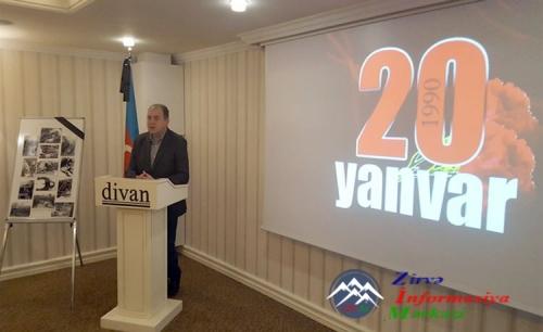Azərbaycanın Batumidəki Baş konsulluğu 20 Yanvar faciəsi ilə bağlı tədbir t ...