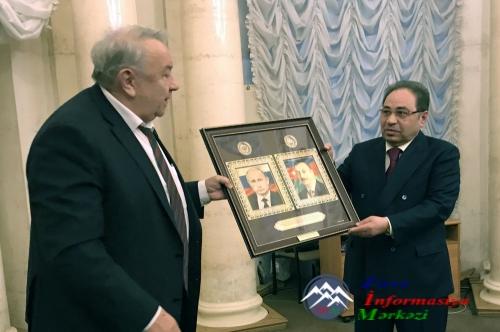 BDU-nun rektoru, akademik Abel Məhərrəmova Rusiya Elmlər Akademiyasının həq ...