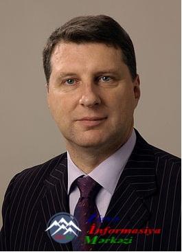 Latviya Prezidenti Bakıya gələcək