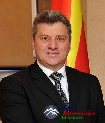 Makedoniya Prezidenti və xanımı - V Qlobal Bakı Forumunda iştirak edəcək