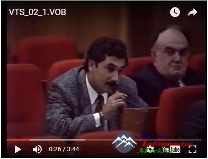Müşfiq Borçalının Milli Məclisdəki çıxışı...
