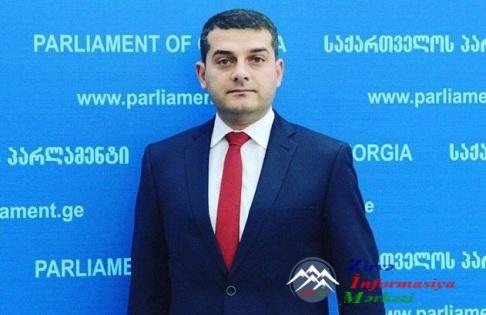 Millət vəkili Savalan Mirzəyev Gürcüstan parlamentində Xocalı soyqırımı ilə ...