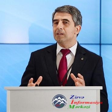 Rosen Plevneliev V Qlobal Bakı Forumuna Bolqarıstanın sabiq prezidenti kimi ...