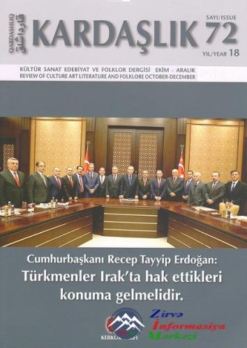 """Gənc alimin məqaləsi """"Kardaşlık"""" jurnalında dərc olunub"""