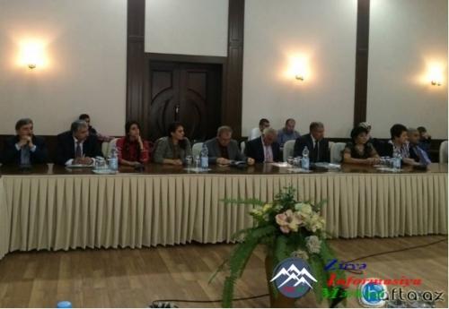 """""""Azərbaycan"""" qəzetinin  yenidən fəaliyyətə başlamasının  25 illik Yubiley tədbiri keçirilib"""