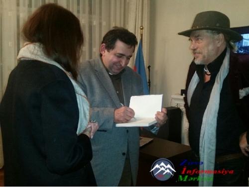 Azərbaycanlı yazıçının kitabı Almaniyada çap olunub