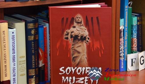 """Prezident Kitabxanasında """"Soyqırım Muzeyi"""" kitabının təqdimatı keçirilib"""