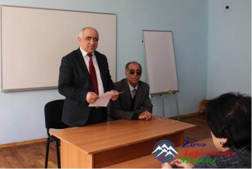 ADPU-da Səmərqənd Dövlət Universitetinin professoru, həmyerlimiz Səxavət Ociyev ilə görüş keçirilib