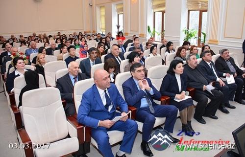 AMEA-da professor Qəzənfər Kazımovun 80 illik yubileyi qeyd olunub