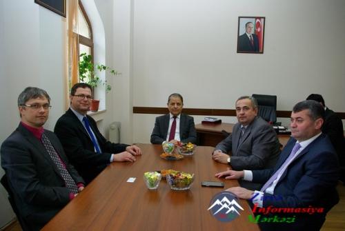 AzTU-nun Almaniya və Çexiya universitetləri ilə əlaqələri genişləndirilir