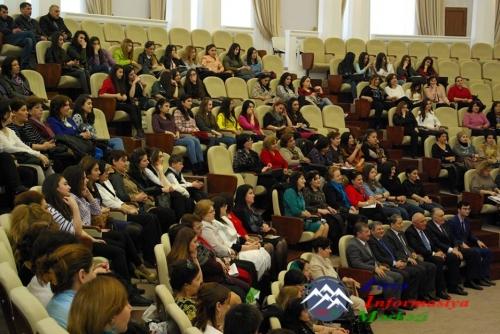 AzTU-da 8 Mart - Beynəlxalq Qadınlar Günü münasibətilə bayram tədbiri keçirilib