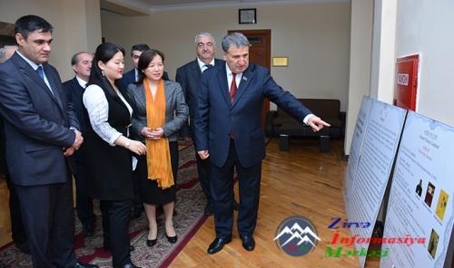 Azərbaycan ilə Çin arasında ədəbi əlaqələr genişlənir