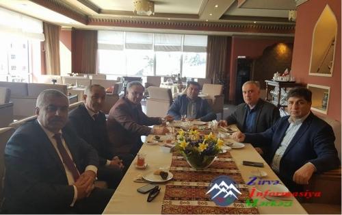 Əflatun Amaşov Gürcüstan parlamentinin sədr müavini ilə görüşüb