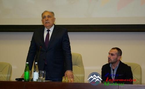 """AzTU-da """"Bakı Marafonu 2017""""-nin təqdimatı keçirilib"""