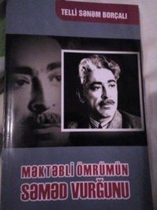 """""""Məktəbli ömrünün Səməd Vurğunu"""" adlı kitabın təqdimatı keçirilib"""