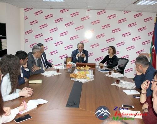 """Əflatun Amaşov: """"Jurnalistika günün tarixini yaradır"""""""
