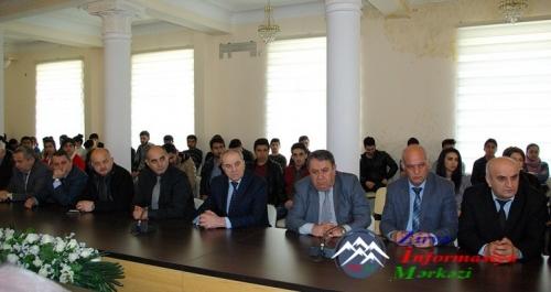 AzTU-da 31 Mart Soyqırımı Günü ilə əlaqədar anım mərasimi keçirilib
